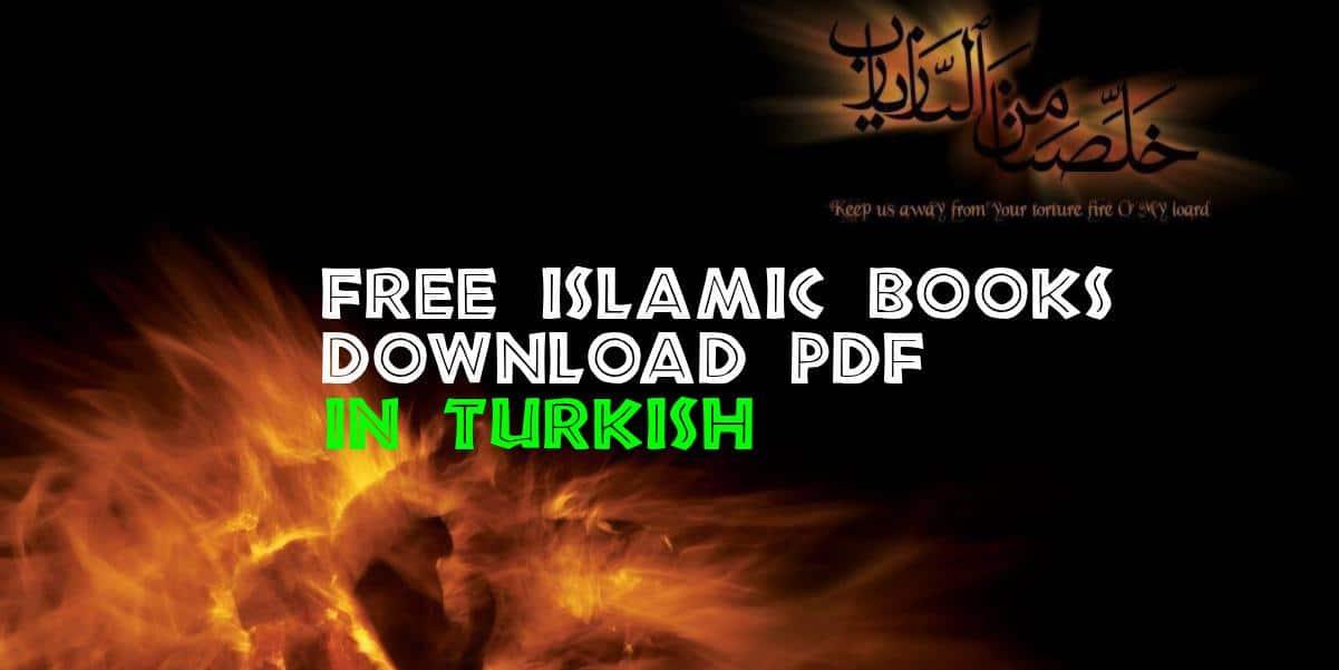 Free Islamic Books in Turkish download pdf
