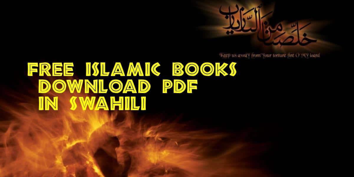 Free Islamic Books in Swahili