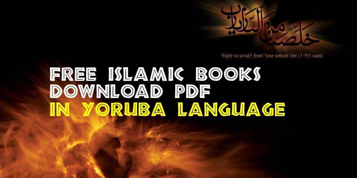 Free Islamic Books in Yoruba Language