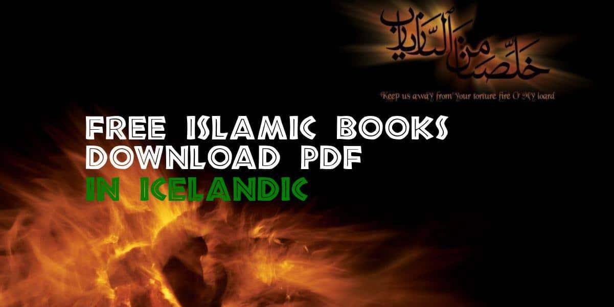 Free Islamic Books in Icelandic